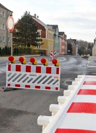 Ab Mitte Dezember soll hier wieder der Verkehr rollen.