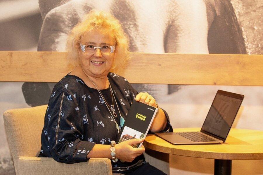 Die Vogtländerin Annette Krupka schreibt Kriminalromane.