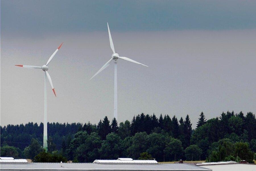 Drei Windräder will eine Firma in Drebach errichten.