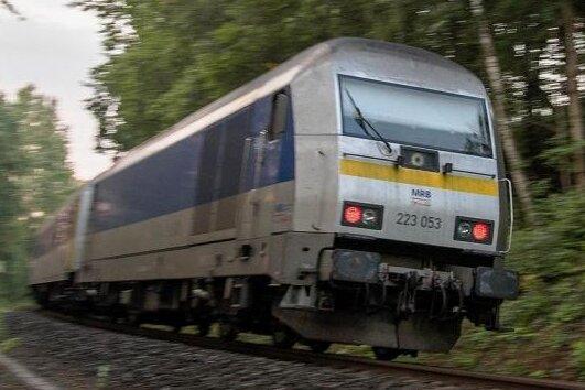 Massive Zugausfälle auf der Bahnstrecke Leipzig - Chemnitz