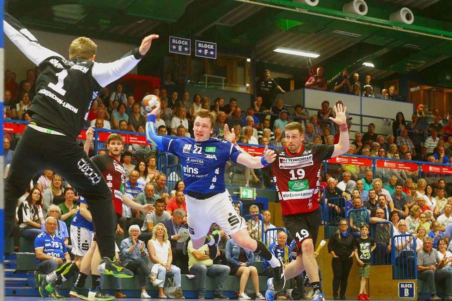 EHV Aue verliert Heimspiel gegen Nordhorn