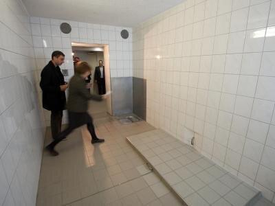 Zelle Nr. 5 im Polizeirevier Dessau-Roßlau: Am 7. Januar 2005 starb hier der Asylbewerber Oury Jalloh.