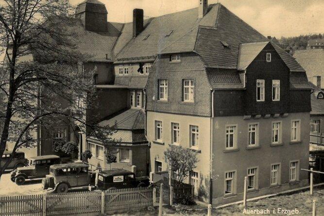 Eine Postkarte aus besseren Zeiten - die Aufnahme stammt laut Ortschronist Frank Bayer aus der Zeit um 1935.