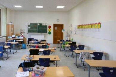 Die Klassenzimmer der Diesterweg-Grundschule haben neue Heizkörper und einen frischen Anstrich bekommen.
