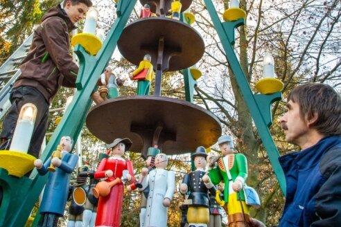 Advent am Miniaturpark