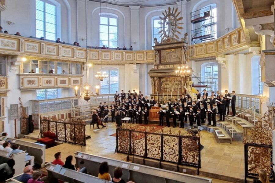 Thomanerchor begeistert in Sankt Georgen