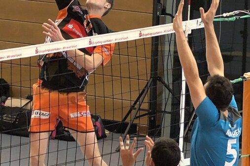 Nach seiner MVP-Wahl in der Vorwoche will Diagonalangreifer Kay Trautvetter auch gegen Eibelstadt sein Können beweisen.