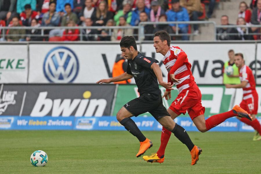 FSV Zwickau verliert Freundschaftsspiel gegen den VfB Stuttgart