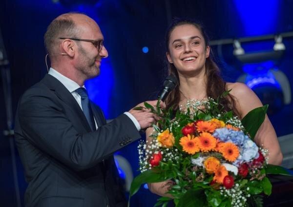 Pauline Schäfer vom TuS Chemnitz-Altendorf ist die Chemnitzer Sportlerin des Jahres 2017.