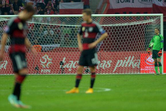 DFB-Auswahl verliert EM-Qualifikationsspiel in Polen 0:2