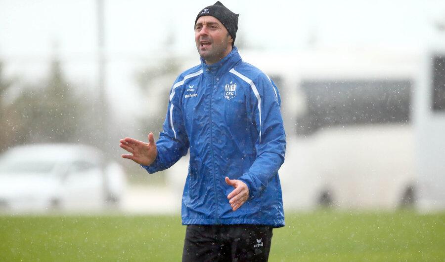 Chemnitzer Co-Trainer Sreto Ristic
