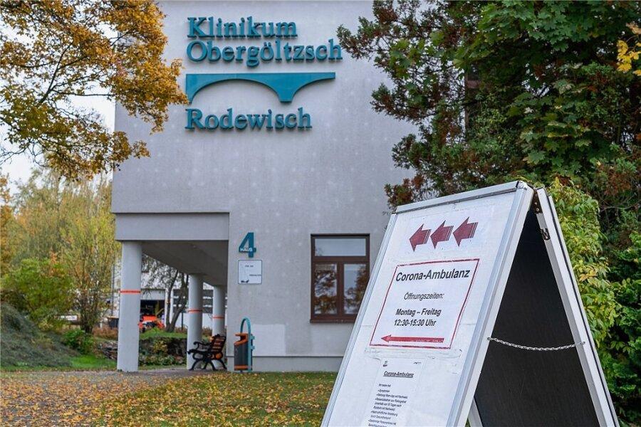 Das Klinikum Obergöltzsch Rodewisch.