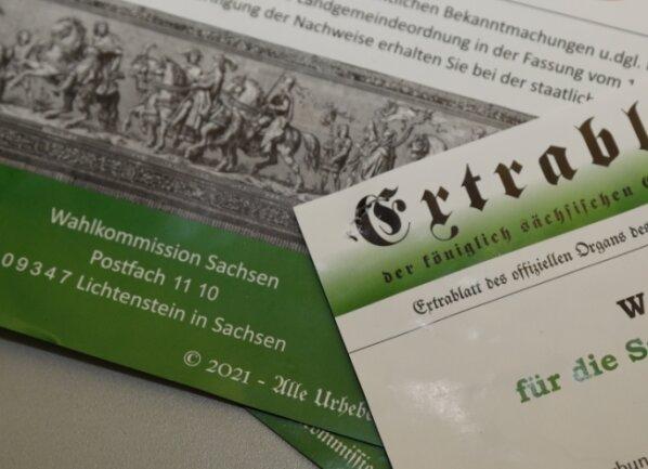 Solche und ähnliche Plakate sind in Limbach-Oberfrohna aufgetaucht und sorgen für Unmut. Aber längst nicht nur dort.