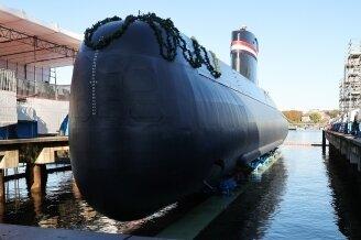 Ein deutsches U-Boot.
