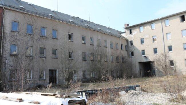 Die Ruine des Verwaltungsgebäudes der ehemaligen Planet-Wäschefabrik Eppendorf soll abgerissen werden.