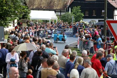 Rund 1000 Besucher verfolgten die Sprint- und Geschicklichkeitsläufe am Sonntag.