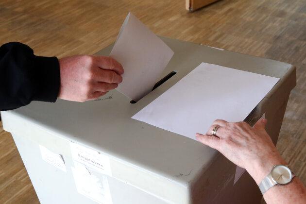 Bürgermeisterwahl in Hainichen: Beteiligung liegt bei 50 Prozent