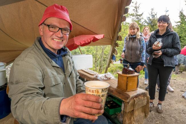 Am Pfingstwochenende ist Kaffee-Kurt in die diesjährige Saison gestartet.