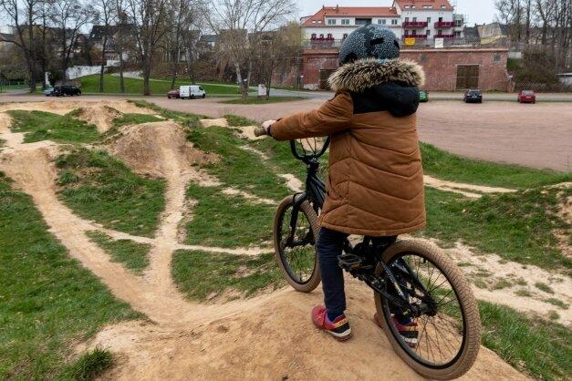 Der BMX-Parcours an der Rochlitzer Bleiche ist bereits beliebt, soll jedoch noch attraktiver werden.