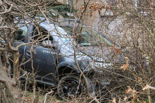 Autounfall - Mann stirbt in Bad Schlema