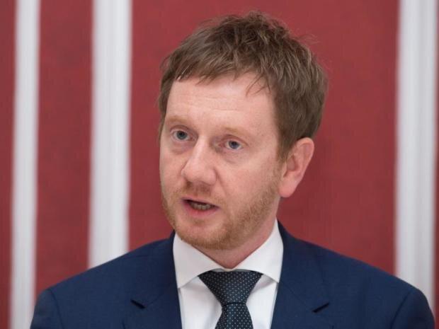 Michael Kretschmer, Regierungschef.