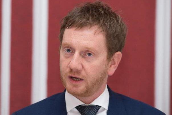 Ministerpräsident Michael Kretschmer (CDU).