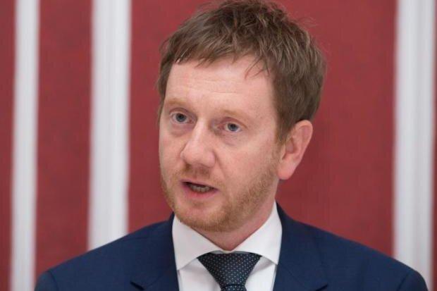 Sachsens Ministerpräsident Michael Kretschmer wird am 12. April in Sayda erwartet.
