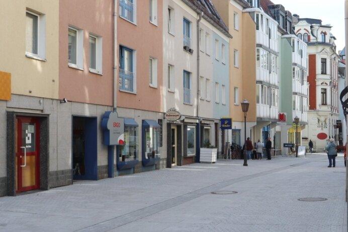 Am Taubenmarkt in Crimmitschau beginnt der zweite Bauabschnitt