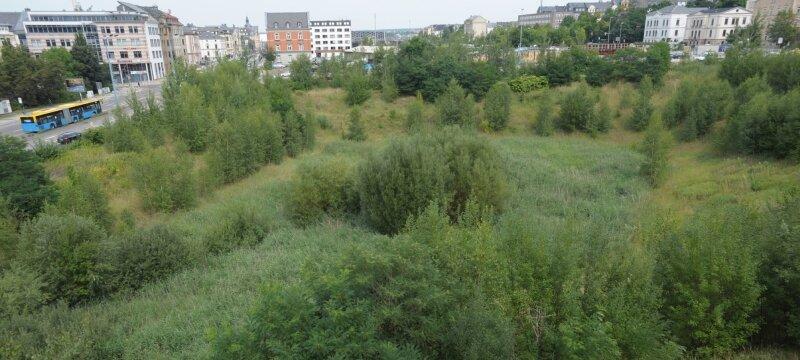 15 Jahre alt: das Conti-Loch in Chemnitz.