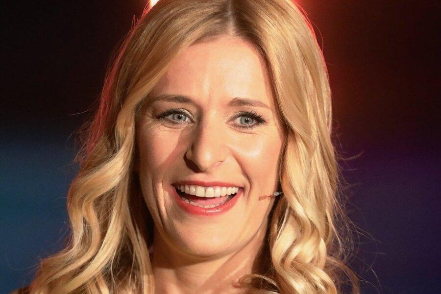 Sängerin Stefanie Hertel aus Oelsnitz.