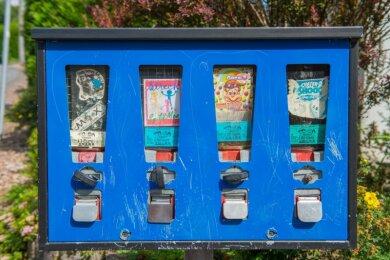 Ein Kaugummiautomat brachte die Polizei auf die Spur des Seriendiebes.