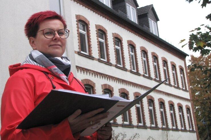 BGV-Chefin Claudia Rentzsch wurde vom Stadtrat ermächtigt, Grundstücksangelegenheiten am Unteren Zwinger zu klären.