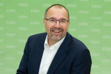 Steffen Zenner soll nächstes Jahr für die CDU den Chefsessel im Plauener Rathaus erobern.Foto: Ellen Liebner