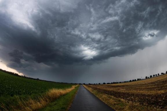 Wetterdienst sagt schwere Sturmböen voraus