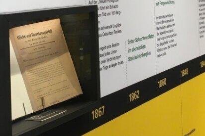 Ein Gesetz markiert im Zeitstrahl das Jahr 1868