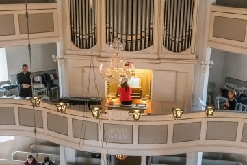 Zeit der Erbauung: musikalische Adventsandachten am Samstag in der Seiffener Bergkirche.