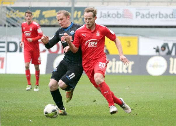 Der FSV Zwickau konnte gegen den SC Paderborn amSamstag keinen Punkt holen.