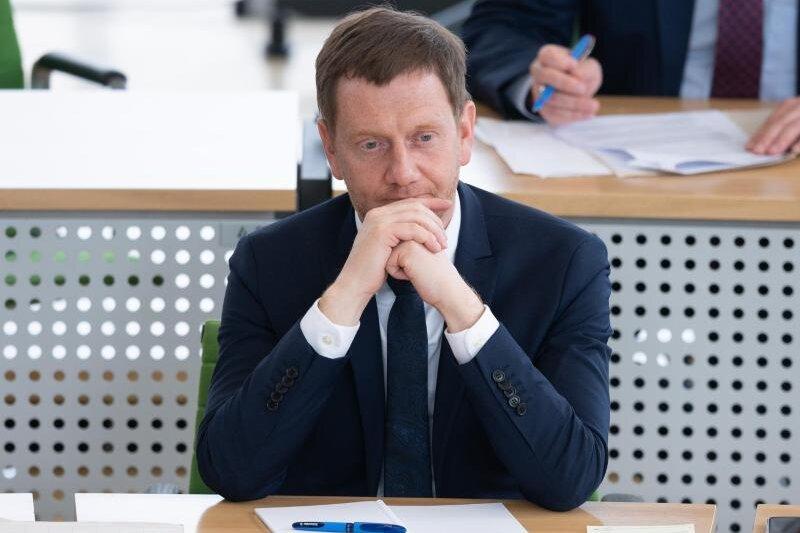 Michael Kretschmer (CDU) sitzt im Landtag.