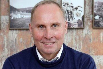 Helge Leonhardt, Präsident des FC Erzgebirge Aue.