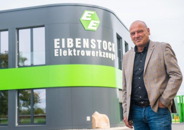 Lothar Lässig ist Geschäftsführer der Firma Eibenstock Elektrowerkzeuge.