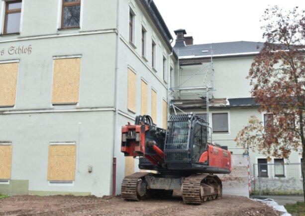 Das Alte Schloss in Erlbach wird bis 2022 umgebaut und neu gestaltet.