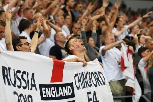 Englische Fans nach der Niederlage im WM-Halbfinale