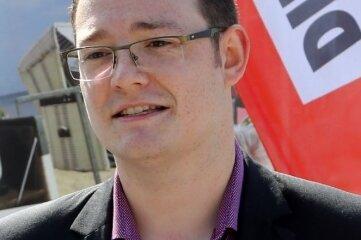 Alexander Weiß (28), Vorsitzender der Kreistagsfraktion der Linken.