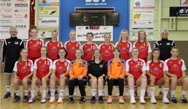 Die B-Jugend-Handballerinnen des BSV Sachsen Zwickau beendeten die vergangene Saison im Frühjahr 2020 als Vize-Landesmeister.