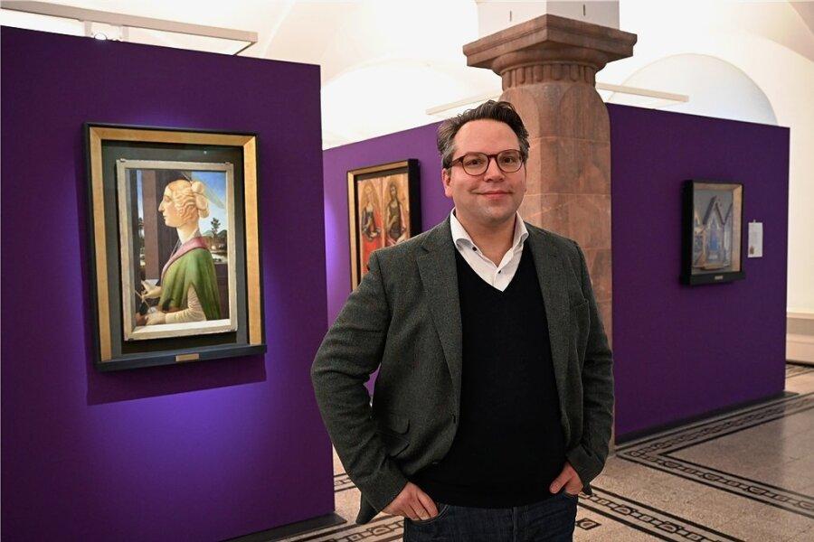 Für Frédéric Bußmann geht der Betrieb der Kunstsammlungen auch ohne Besucher weiter.