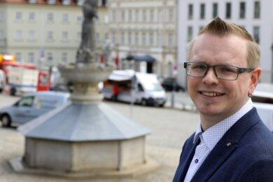 Die Innenstadt ist Sebastian Bernhardt ein wichtiges Anliegen.
