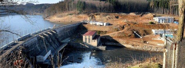 Die offizielle Inbetriebnahme des Wasserkraftwerks an der Talsperre Kriebstein wird sich weiter verzögern.