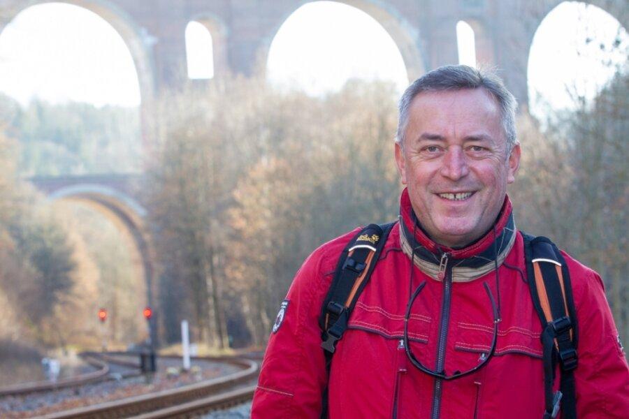 """Plauens Oberbürgermeister Ralf Oberdorfer ist ein Freund langer Strecken: """"Etwas anstrengend muss es sein."""" In der Zeit nach seiner Amtszeit will er zu einer Wanderung aufbrechen, """"bei der das Ende nicht feststeht""""."""