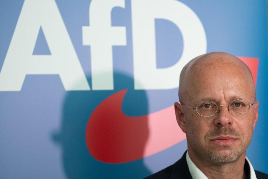Andreas Kalbitz, Vorsitzender der AfD-Fraktion im Landtag von Brandenburg.