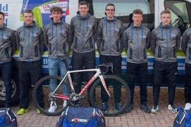 Bereit für neue Aufgaben: das Radteam Berthold aus Hainichen.